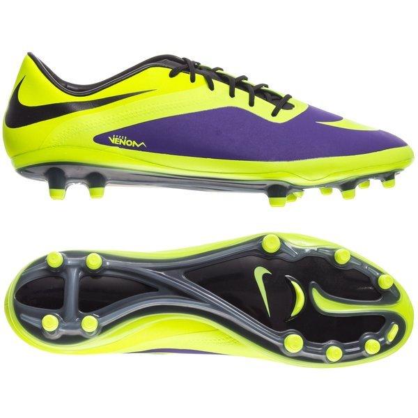 new arrival a39f8 3d390 Nike Hypervenom Phatal FG Neon Lilla Sort