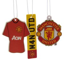 Manchester United - Luftfräschare 3-pack