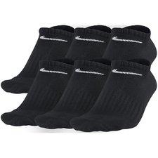 Nike Enkelsokken 6-Pak Zwart