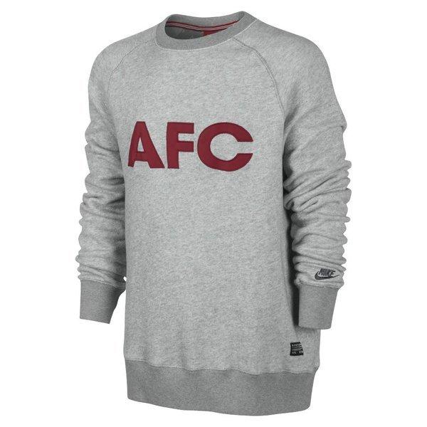 Nike Arsenal Sweatshirt AW77 Grey   www