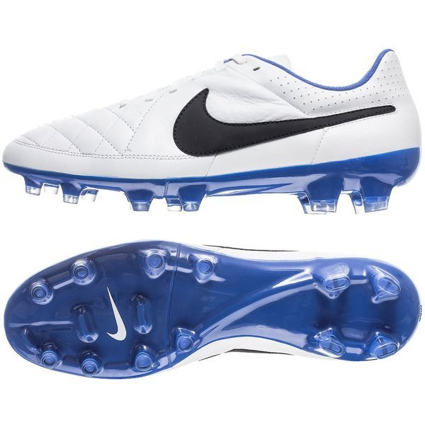 c569f38106c Nike Tiempo Genio FG White Black Treasure Blue. Read more about the  product. - football boots. - football boots image shadow