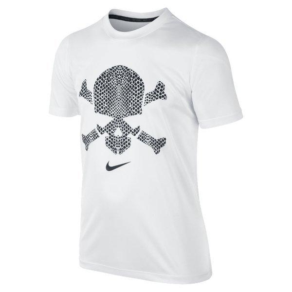nike hypervenom tshirt skull whiteblack kids www