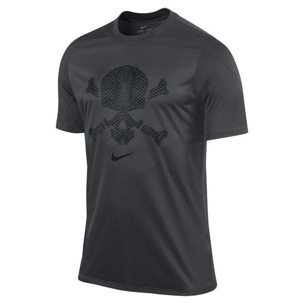 nike hypervenom tshirt skull anthraciteblack www