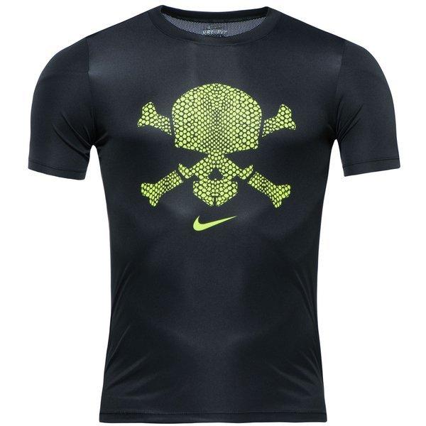 nike hypervenom tshirt skull blackvolt www