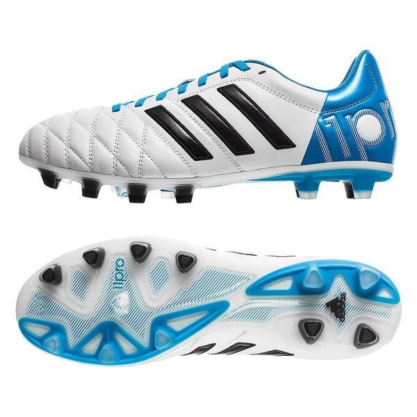 Principiante histórico exceso  adidas Adipure 11Pro FG White/Black/Blue | www.unisportstore.com