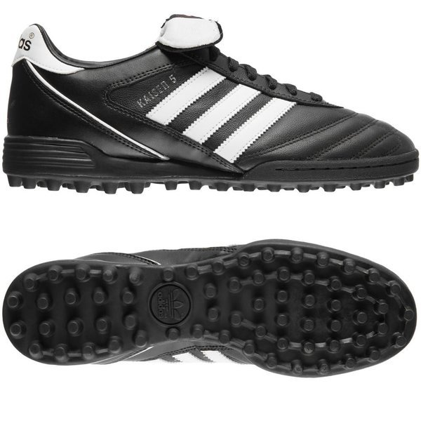 adidas Kaiser 5 Team TF - Sort/Hvid
