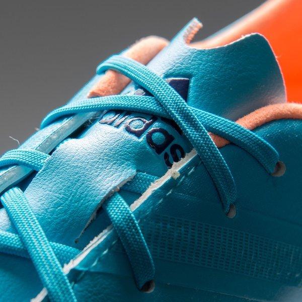 Adidas F30 Adizero Fg Samba Blue Glow Orange Collegiate