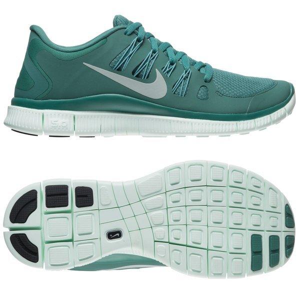 a8856e6810b2 Nike Free Running Shoe 5.0+ Dark Green Women