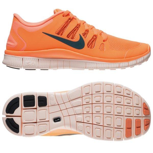 Nike Free Running Shoe 5.0+ Orange