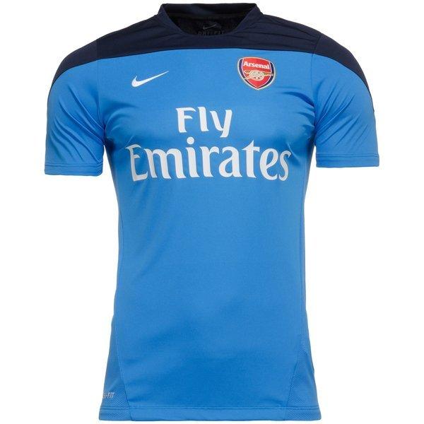 new arrivals 98c89 ba13e Arsenal Training T-Shirt Blue/Navy   www.unisportstore.com