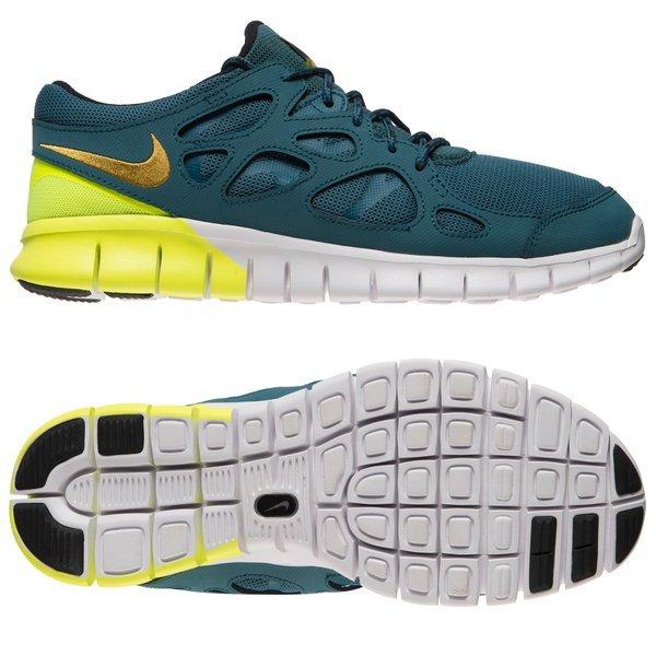 super populaire fad01 d80c5 Nike Free Running Shoe Run 2 Blue/Green | www.unisportstore.com