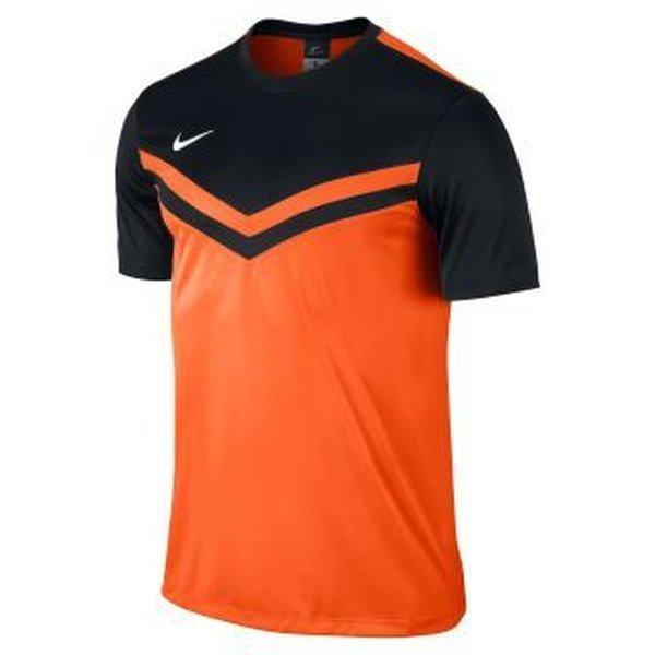 443f16453e80 nike football shirt victory ii safety orange black kids ...