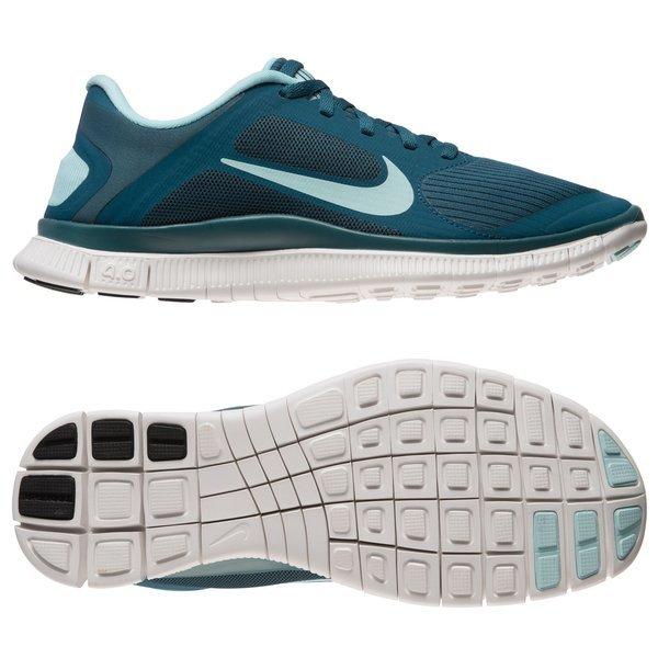 quality design b0d86 76167 Nike Free Hardloopschoenen 4.0 V3 DonkergroenLichtblauw Vrouwen. Lees meer  over het product. - hardloopschoenen. - hardloopschoenen image shadow