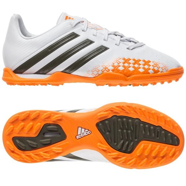7f1cd3401a4b adidas - predator absolado lz tf vit grön orange barn ...