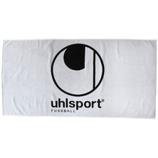Uhlsport håndklæde med logo. Måler ca. 140 cm. x 72 cm. Fremstillet i 100% bomuld.