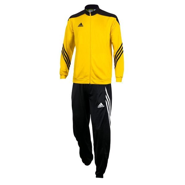 ad9c7ef60ab1 adidas Tracksuit Sereno 14 PES Yellow Black