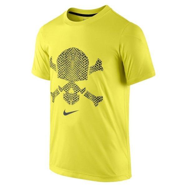 nike hypervenom tshirt skull yellowblack kids www