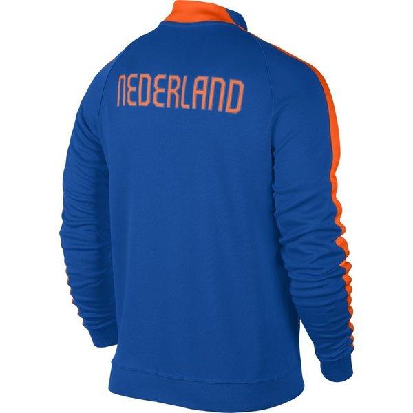 528c1a7e993 Nike Nederland N98 Track Jas Authentic Blauw/Oranje | www ...