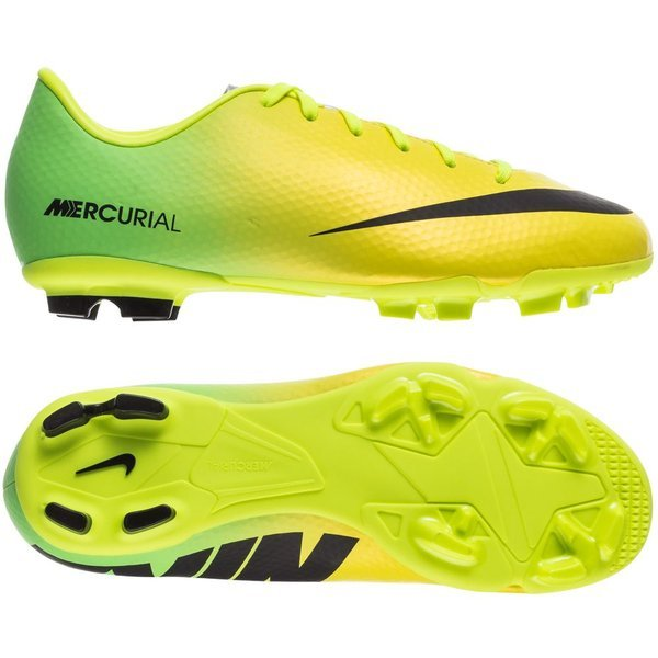 Arrastrarse penitencia cebra  Nike Mercurial Victory IV FG Vibrant Yellow/Black/Neo Lime Kids |  www.unisportstore.com
