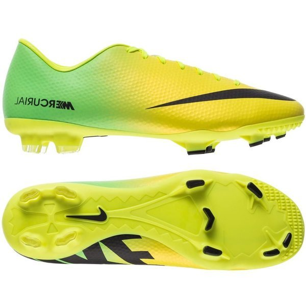 2b1360a26 78.00 EUR. Price is incl. 19% VAT. -70%. Nike Mercurial Victory IV FG  Vibrant Yellow Black Neo Lime