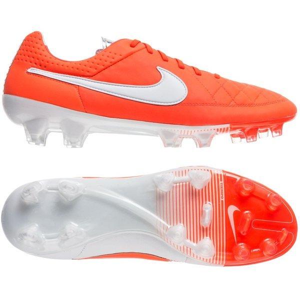 Nike Tiempo Legend V ACC FG Total CrimsonWhiteMetallic Silver