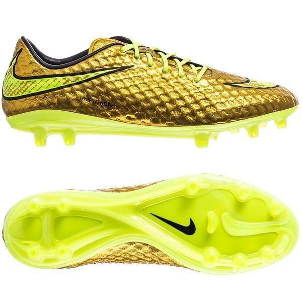 Nike Hypervenom Phantom FG Gold | www.unisportstore.com