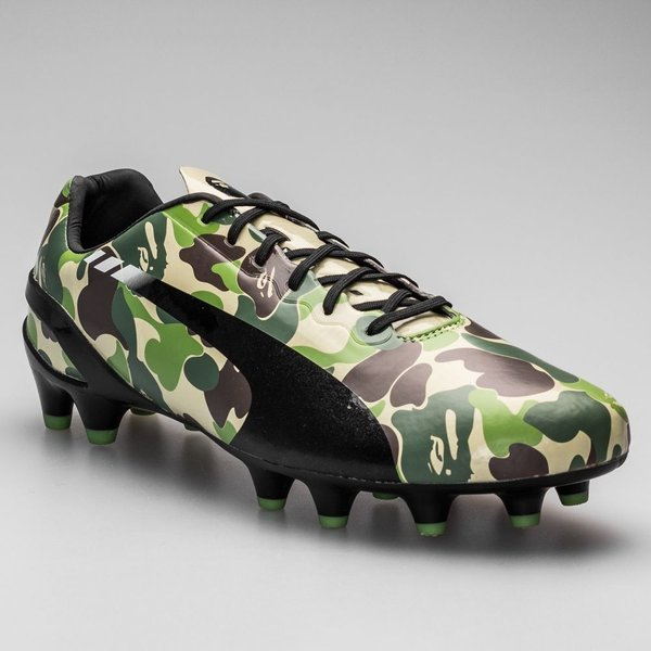 BAPE x Adidas Football Green
