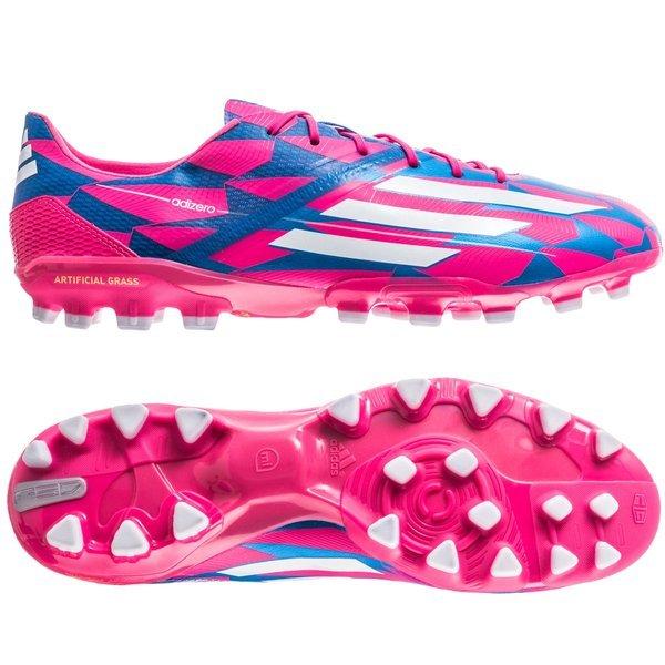 cerrar Federal nosotros  adidas F50 Adizero AG Solar Pink/Running White/Solar Blue | www ...