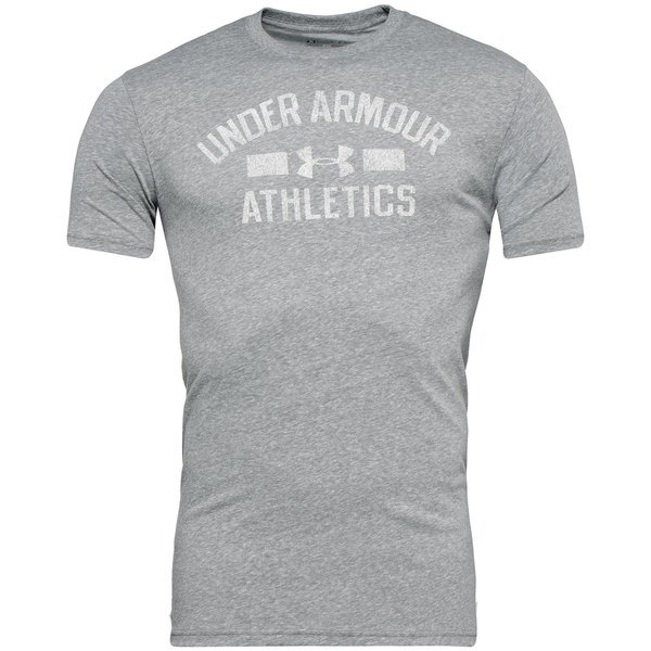 e35ad597d Under Armour T-Skjorte Slogan Grå/Hvit
