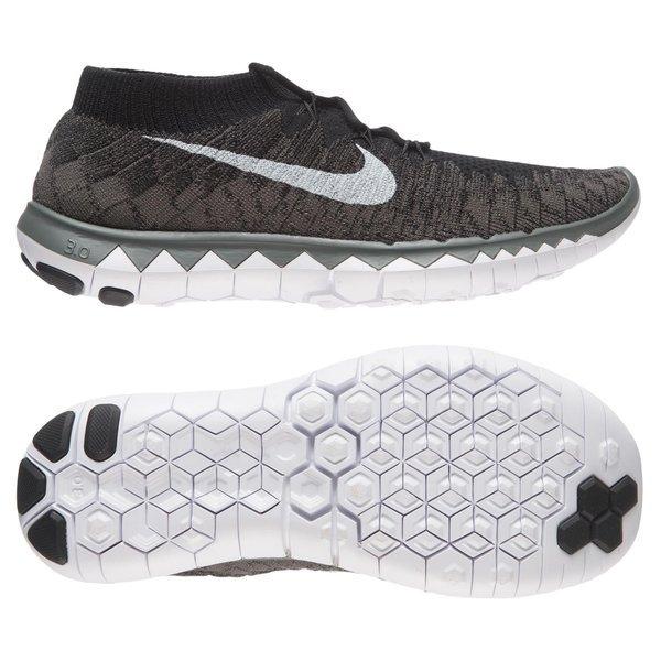low priced ca238 df25a Nike Free Running Shoe Flyknit 3.0 Black White Midnight Fog Women    www.unisportstore.com