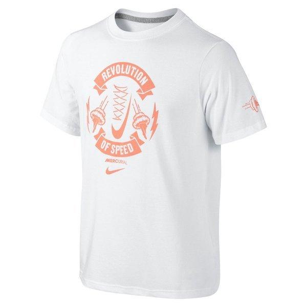 Nike T Shirt Mercurial QT TD Hvid Børn