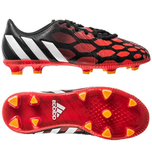 9f25df97d2cd adidas Predator Absolado Instinct FG Black Running White Infrared Kids.  Read more about the product. - football boots. - football boots image shadow