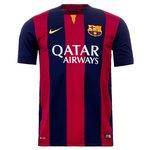 Barcelona - Hjemmebanetrøje 2014/15