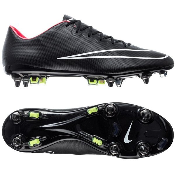 new product 73aff 49bd2 Nike Mercurial Vapor X SG-PRO Black Hyper Punch White. Read more about the  product. - football boots. - football boots image shadow