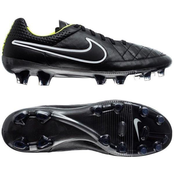 buy popular 508c5 a1232 €175. Price is incl. 19% VAT. -70%. Nike Tiempo Legend V ACC FG Black Volt  White