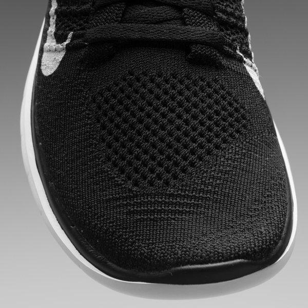 Nike Free Løbesko Flyknit 4.0 SortHvid Dame
