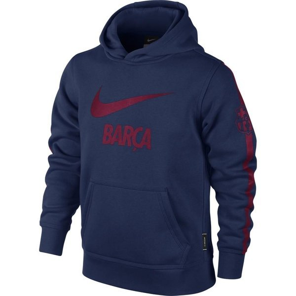 huge selection of a5312 589a3 Nike Barcelona Hoodie Core Navy/Red Kids
