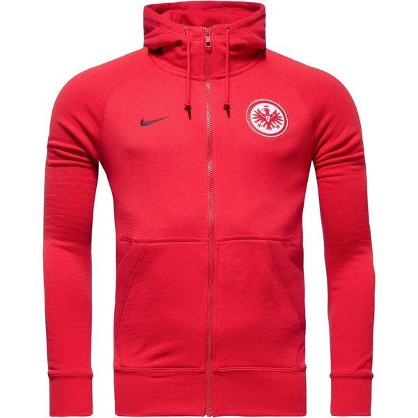 Nike Eintracht Frankfurt Hoodie Authentic AW77 FZ Red
