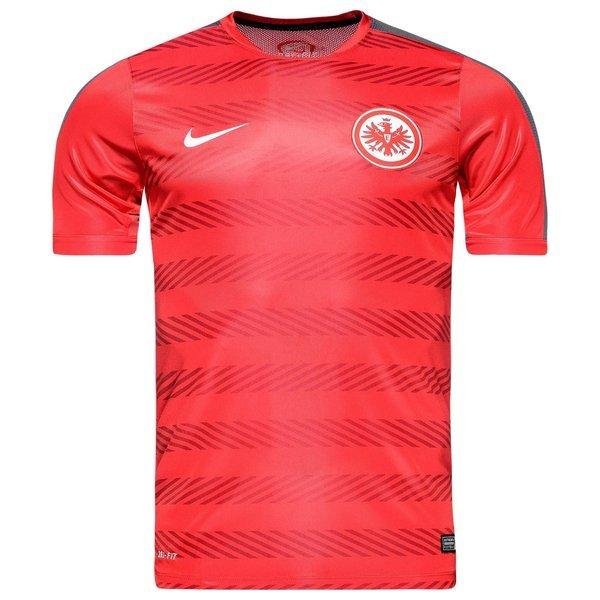 Eintracht Frankfurt Training T Shirt Squad Pre Match University Red