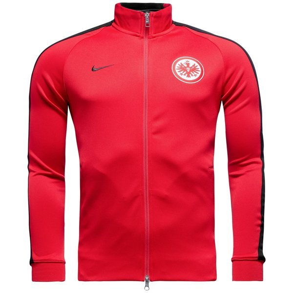 new arrive limited guantity united states Nike Eintracht Frankfurt N98 Track Top Authentic University Red/Black