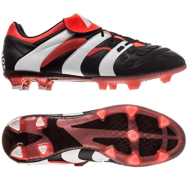 70b6d28d887f adidas Predator Accelerator FG Black Red White Limited Edition PRE ...