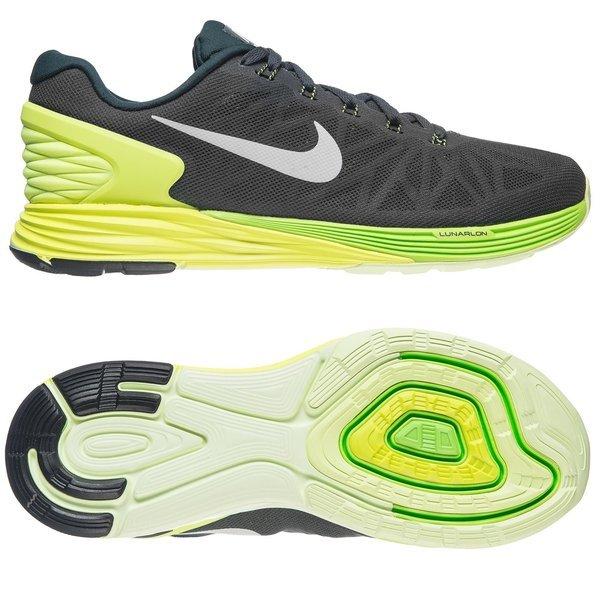 big sale d182a ad8b8 Nike Running Shoes Lunarglide 6 Black Neon   www.unisportstore.com