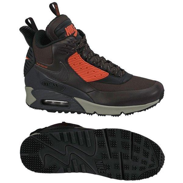 huge discount b7300 bd183 Nike Air Max 90 Sneakerboot Winter Brown