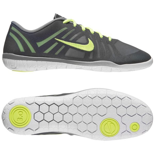 db349ce52192 Nike Free Running Shoe 3.0 Studio Dance Cool Grey Black Volt Women ...