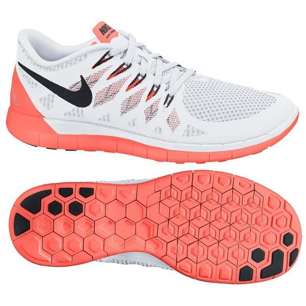 half off 23aee 51467 Nike Free - Löparskor 5.0 Vit Orange Dam. Läs mer om produkten. - löparskor.  - löparskor image shadow