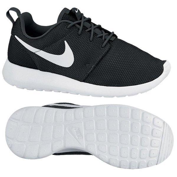 Nike Roshe Run Black/White Women | www
