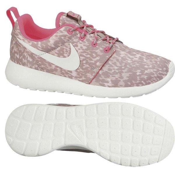 Nike Roshe Run Print Pink/White Women