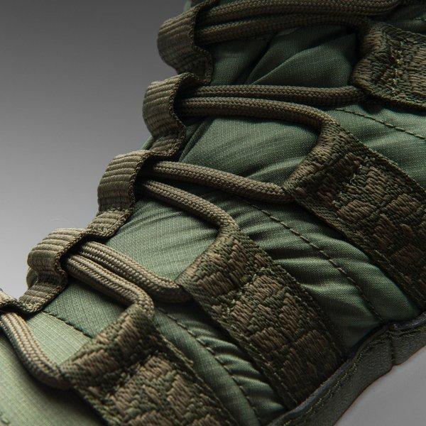 Nike Sportswear Womens Roshe Run Hi Sneakerboot Rough Green Sail