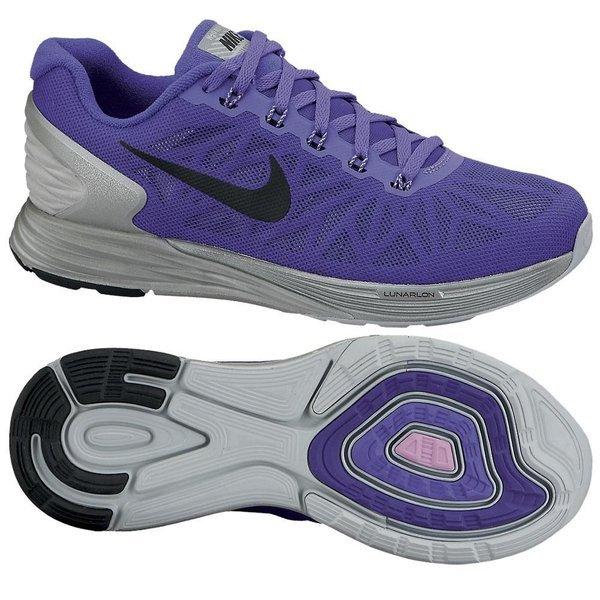 super popular cecc4 f87b5 Nike Running Shoe Lunarglide 6 Flash Purple Grey Women    www.unisportstore.com