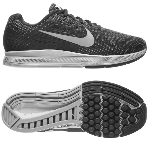 eeb460b09443a Nike Running Shoe Air Zoom Structure 18 Flash Cool Grey/Black ...